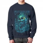 Merchandise Sweatshirt Under Water Caribbean Waters Print