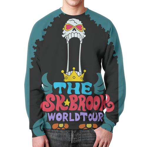 Merch Sweatshirt Brook Worldtour Prit Black