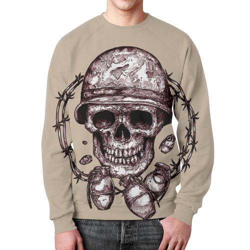 Collectibles Skull Soldier Sweatshirt Grenades