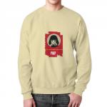 Collectibles Sweatshirt Pulp Fiction Mia Face Print