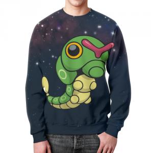 Merchandise - Sweatshirt Pokemon Merch Caterpi Print