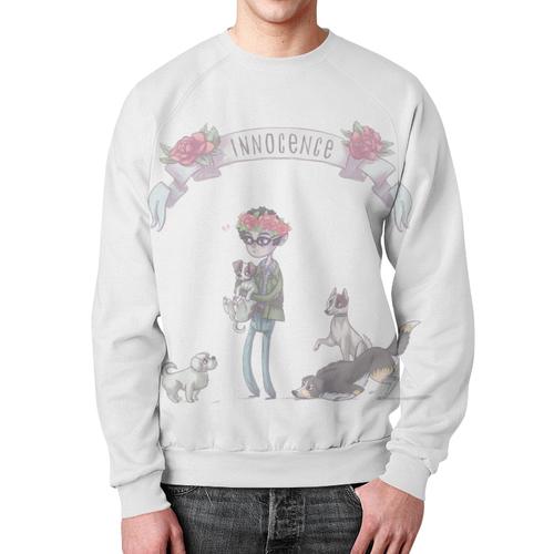 Merchandise Sweatshirt Hannibal Will Graham White Print