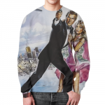 Collectibles Sweatshirt James Bond Retro 60Th 007