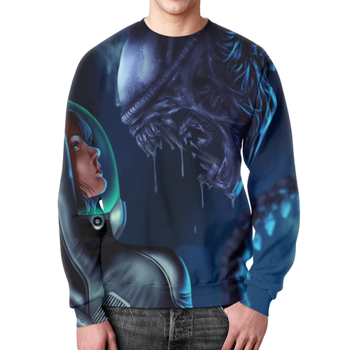 Collectibles Sweatshirt Alien Movie Art Jumper