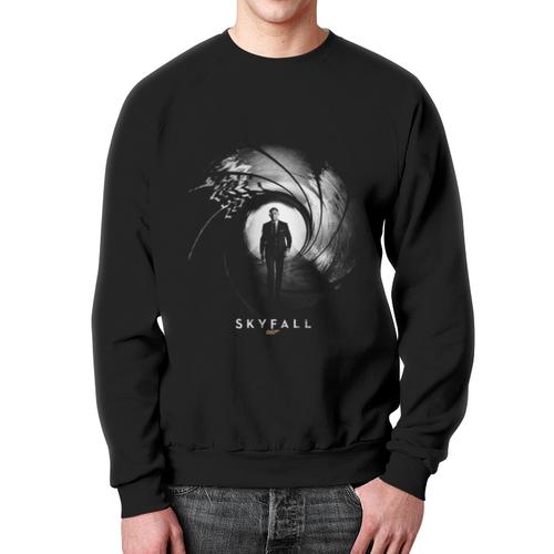 Merchandise Skyfall Agent 007 Sweatshirt James Bond Black Print