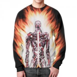 Collectibles Sweatshirt Design Terminator Merchandise Print