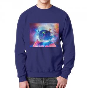 Collectibles Sweatshirt Astronaut Infinity Art Cosmonaut