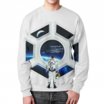 Merch Sweatshirt Star Wars Starship Illuminator