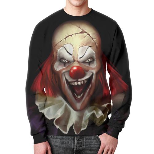 Merch Sweatshirt It Movie Fan Art Clown