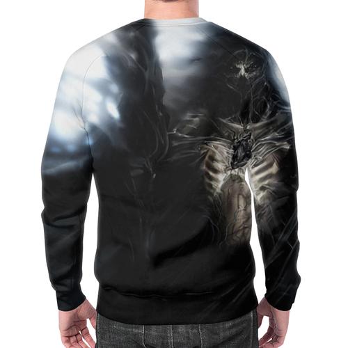 Merch Reaper Sweatshirt Death Design Black Print Apparel