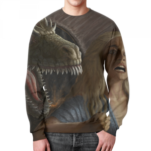 Merch Sweatshirt Merch Daenerys Targaryen Game Of Thrones