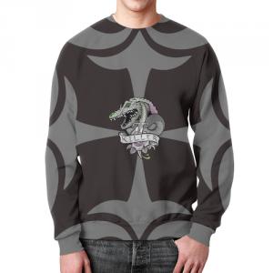 Collectibles Sweatshirt Killer Croc Suicide Squad Logo