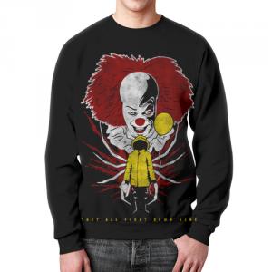 Merch It Movie Sweatshirt Pennywise Black