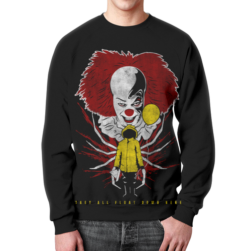 Collectibles It Movie Sweatshirt Pennywise Black