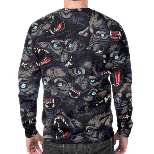 Collectibles Sweatshirt Wolf'S Grin Pattern Design