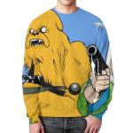 Merchandise - Star Wars Adventure Time Sweatshirt Crossover