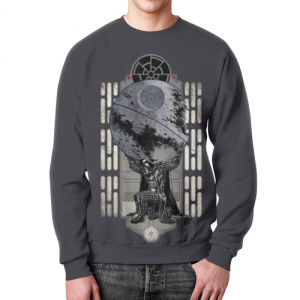 Merch Darth Vader As Atlas Sweatshirt Death Star Star Wars