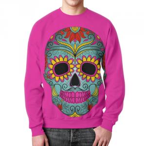 Merchandise Sugar Skull Tattoo Sweatshirt Art