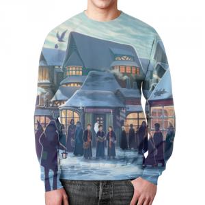 Merchandise Sweatshirt Harry Potter Scene Print Merch