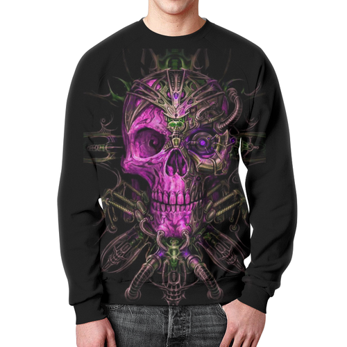 Merch Mystic Retrofuturism Sweatshirt Skeleton