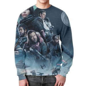 Merch Sweatshirt Star Wars Rogue One Cast Cover