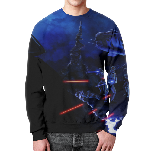 Collectibles Star Wars Sweatshirt Clones Attacking