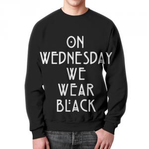 Merch Sweatshirt Wednesday We Wear Black American Horror Story