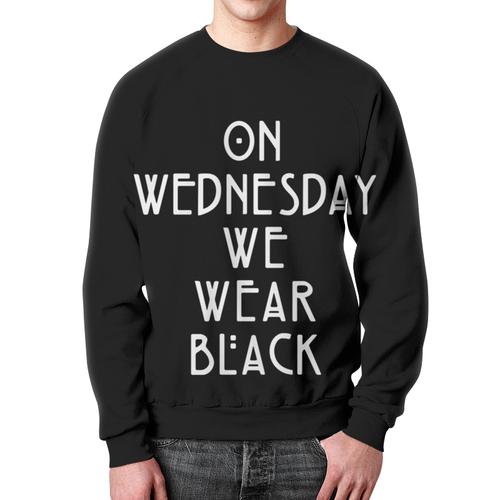 Collectibles Sweatshirt Wednesday We Wear Black American Horror Story