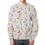 Collectibles Sweatshirt Pokemon Merch Pattern Print