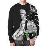 Merchandise Sweatshirt Breaking Bad Batman Black Graphic