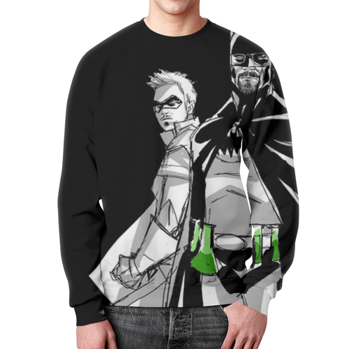 Merch Sweatshirt Breaking Bad Batman Black Graphic