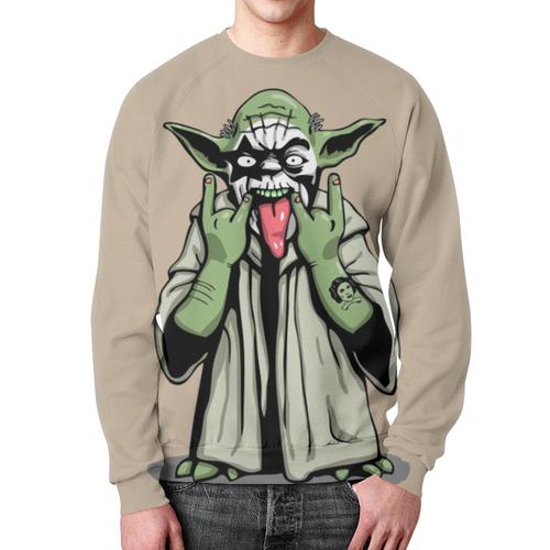 Merchandise Yoda Sweatshirt Rockstar Star Wars Print