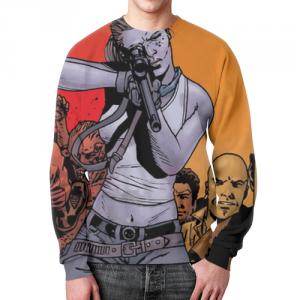 Collectibles Sweatshirt Walking Dead Scene Image Merch