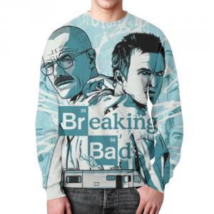 Merch Sweatshirt Breaking Bad Portraits Design