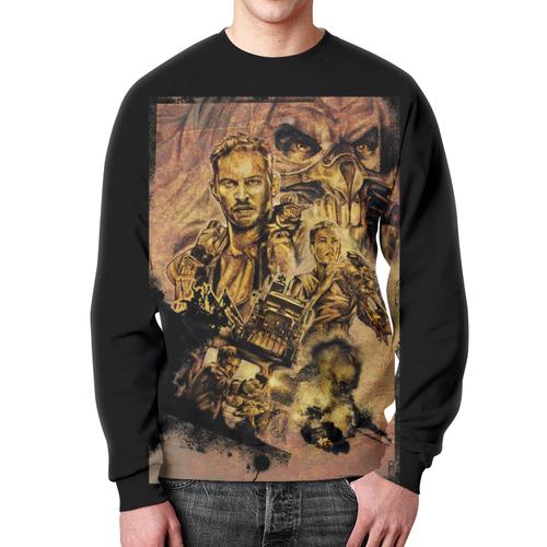 Merchandise Sweatshirt Mad Max Retro Style Cover