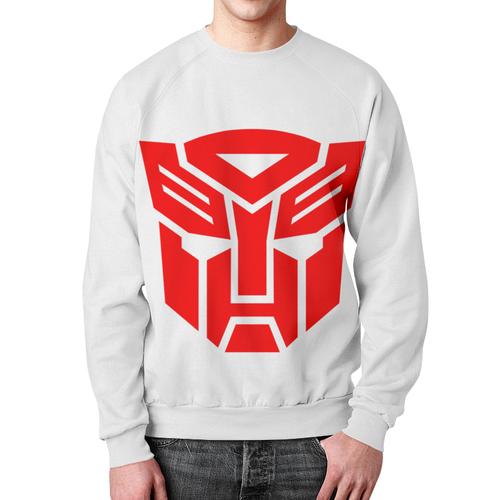 Merchandise Autobots Sweatshirt Red Logo Transformers