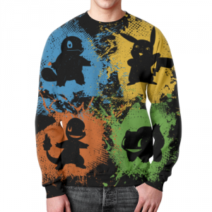Collectibles Sweatshirt Pokemon Merchandise Design Print