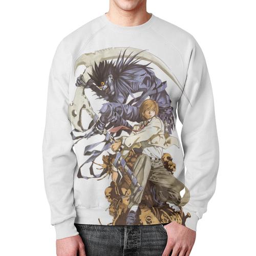 Merch Ryuk Sweatshirt Death Note White Print Merch