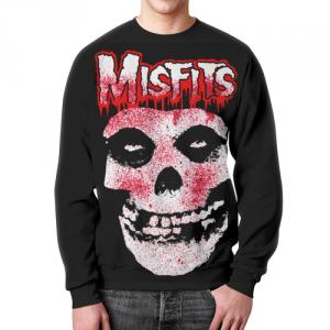 Merch Misfits Sweatshirt Band Logotype Glenn Danzig