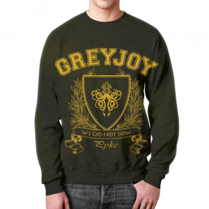 Merch Sweatshirt Game Of Thrones House Of Greyjoy Black