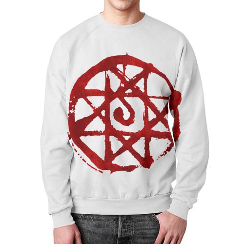Merch Blood Seal Sweatshirt Fullmetal Alchemist Jumper