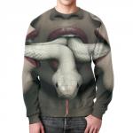 Collectibles Sweatshirt American Horror Story Snake Print