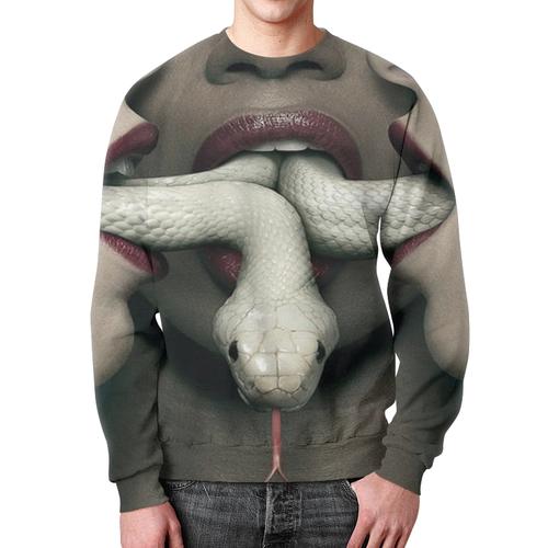 Merch Sweatshirt American Horror Story Snake Print