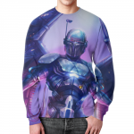 Merch Sweatshirt Boba Fett Star Wars Design