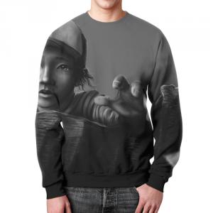 Collectibles Sweatshirt Walking Dead Footage Print Design