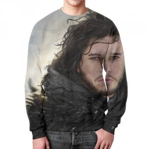 Merch Sweatshirt Merch Jon Snow Game Of Thrones