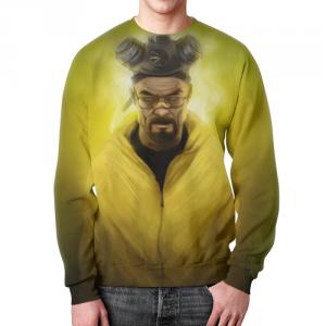 Collectibles - Sweatshirt Breaking Bad Hero Face Print
