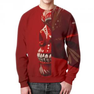 Collectibles Skeletal Muscle Sweatshirt Skull Art