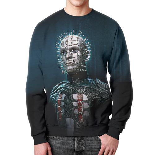 Merch Sweatshirt Hellraiser Print Portrait Design