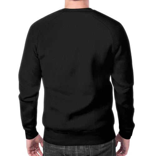 Merch Sweatshirt Skull White Print Design